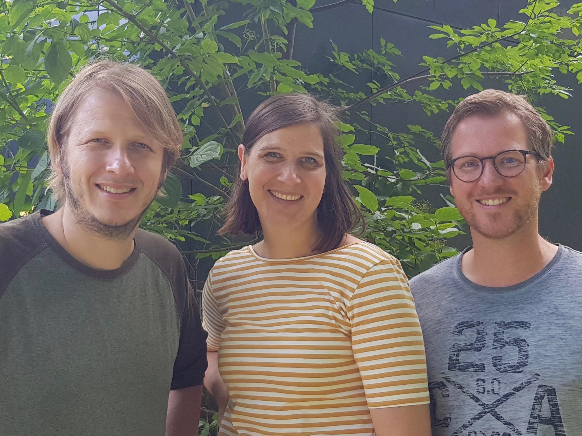 Patrick Rodeck, Kirsten Haltermann, Andreas Langehaneberg